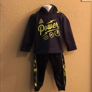 Reebok 24m tracksuit outfit